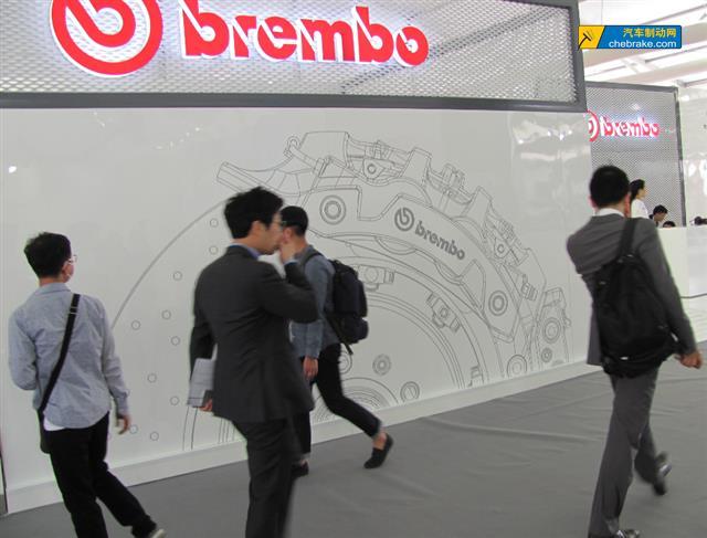 2016年北京车展布雷博展台-布雷博原装正品鉴别攻略高清图片