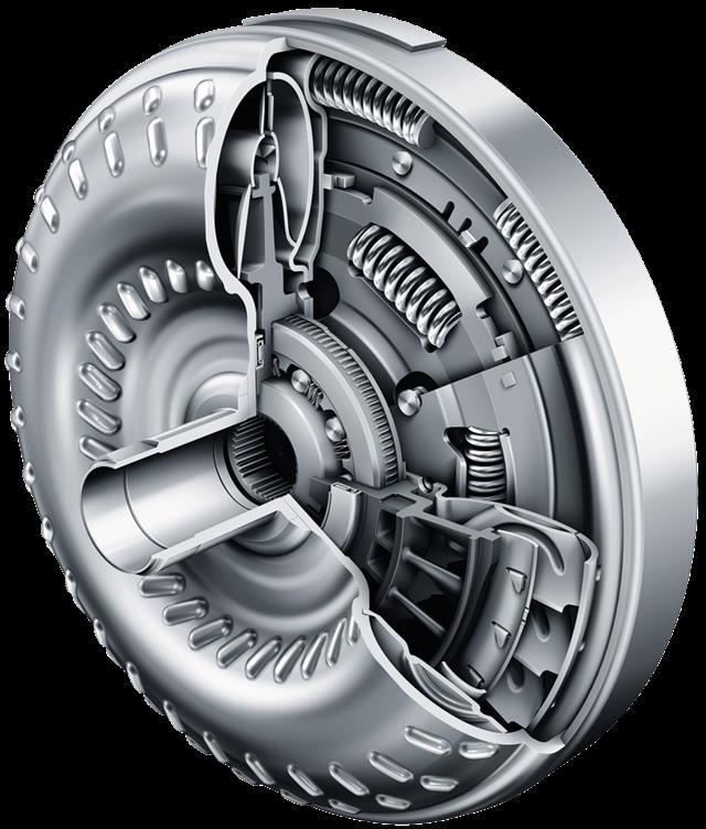 液力变矩器能有效缓冲发动机和传动系统的扭振,是自动变速器和无级图片